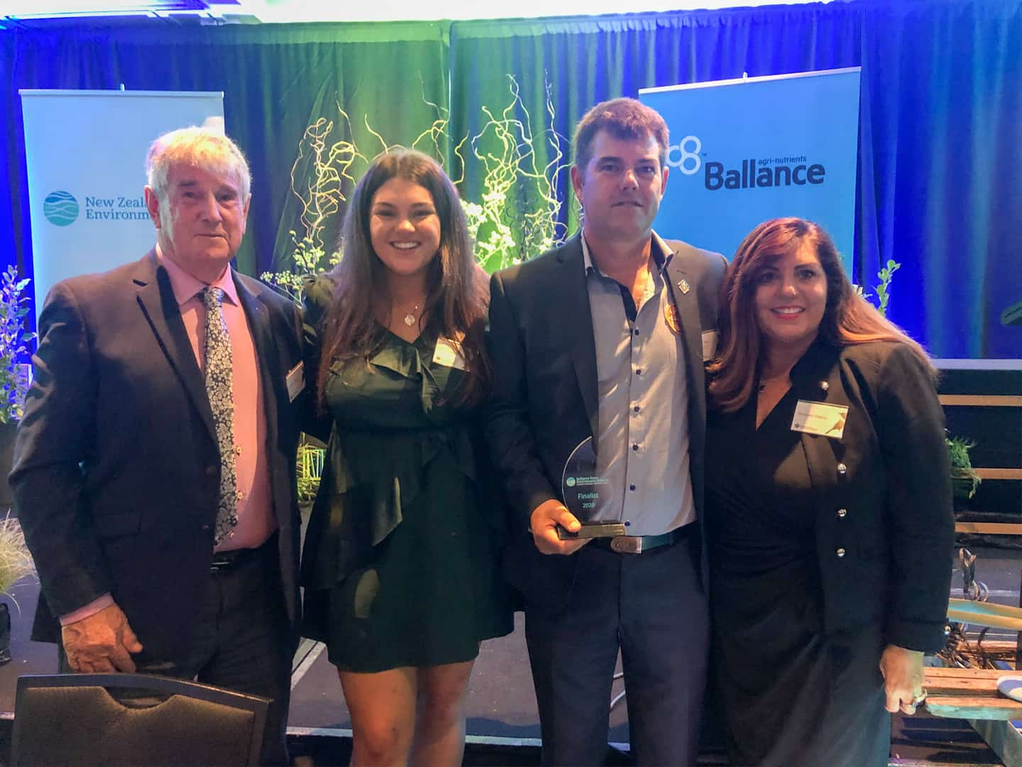 Left to right: Graeme Oakley (4th generation farmer), April Oakley (6th generation), Robin Oakley (managing director, 5th generation farmer) & Shirleen Oakley (director)