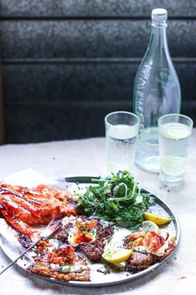 Crisp Potato and Fennel Rostis with Paprika-Glazed Salmon- SAMANTHA PARISH IMG_2732
