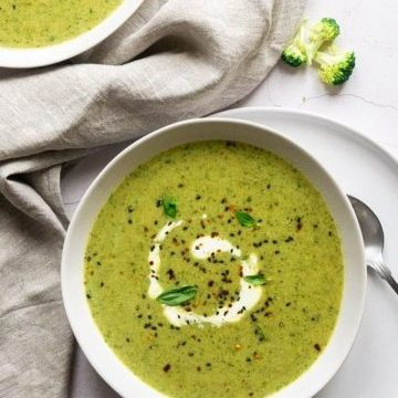 Dreamy Creamy Broccoli Soup